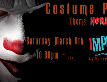 ImproVIBE's annual costume party! Theme: HORROR!